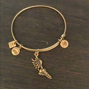 Alex and Ani run bracelet